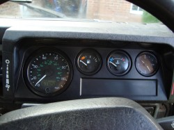 The finished dash finally installed