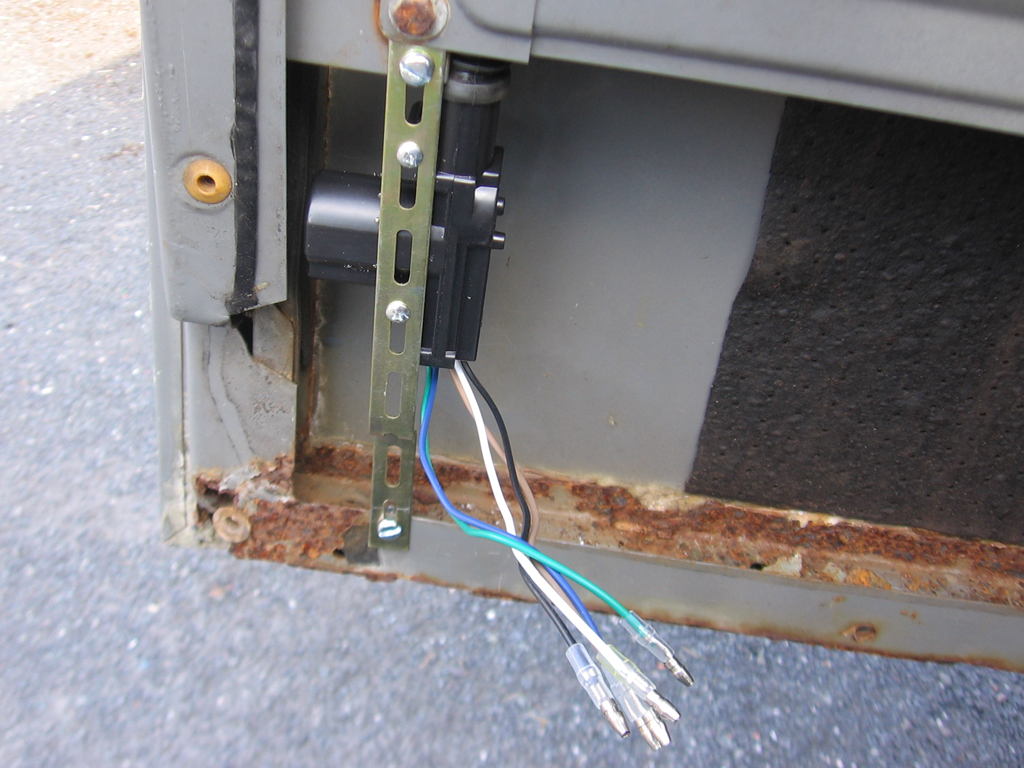 Installing Remote Central Locking On Front Doors Land