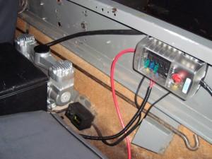My fusebox and general behind-seat arrangement